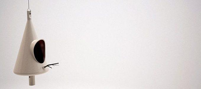 APA une jolie cabane à oiseaux par Luis Porem