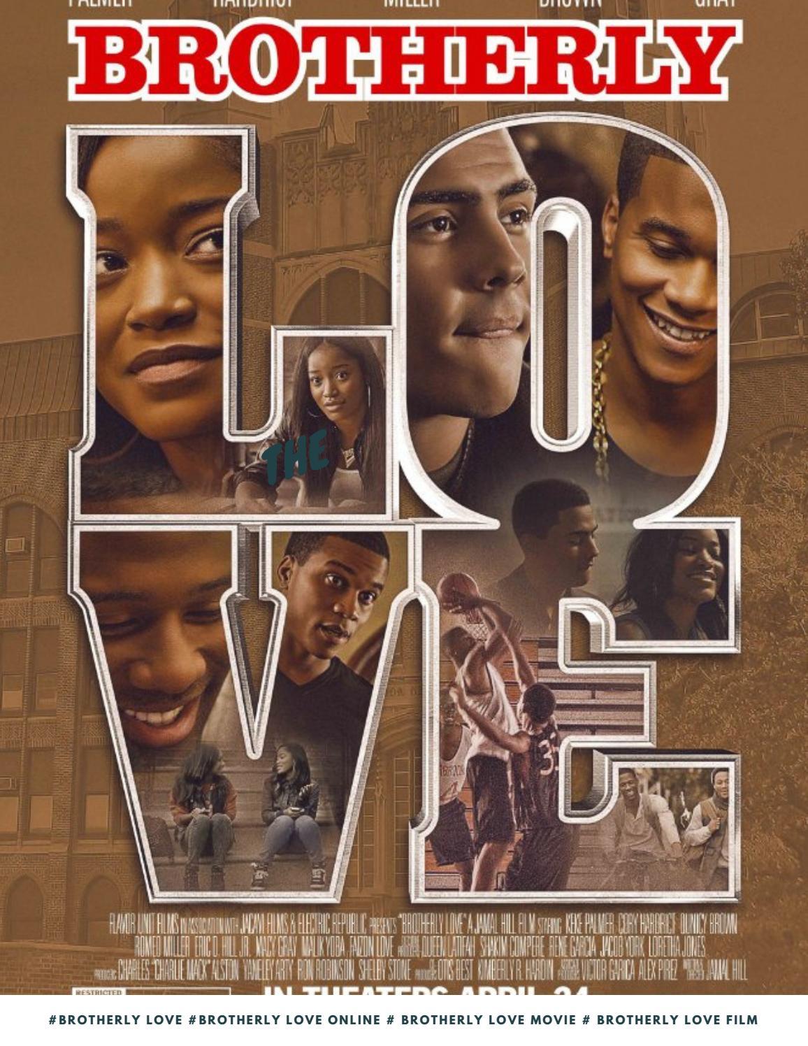 Brotherly Love(2015) Movies Online Free Unblocked On Schermovies