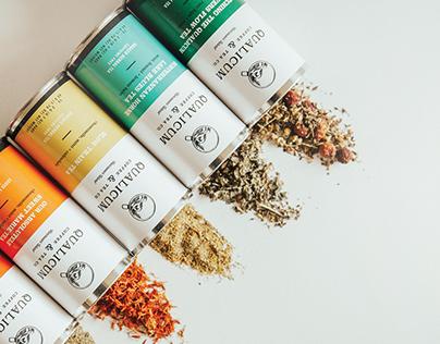 Qualicum Coffee & Tea Branding & Packaging Design
