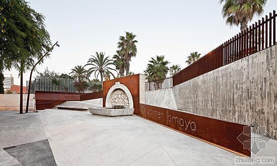 Carmen Amaya喷泉景观翻新改造第3张图片 1