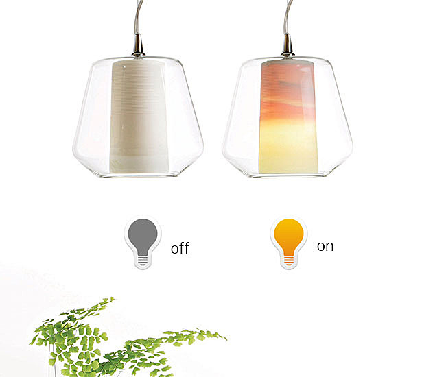 ETICA Porcelain Lamp Was Derived from Unsuccessful Experiment
