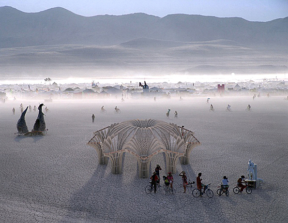 The renders of Josh Haywood's Burning Man sculpture are incredible