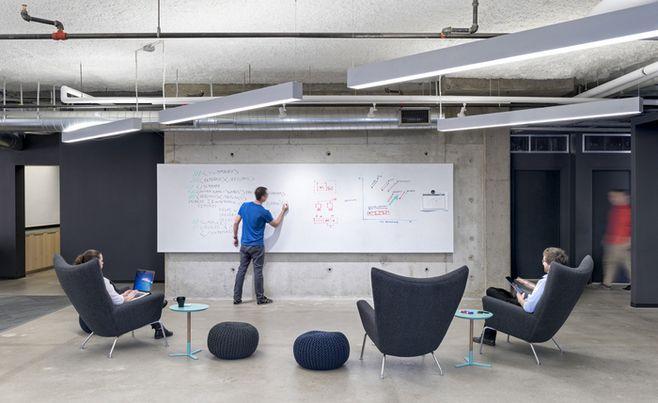 loft办公室设计,现代办公室设计