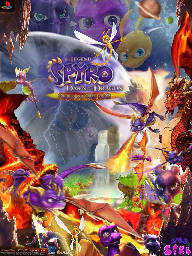 ICT PROJECT: Spyro DotD Poster
