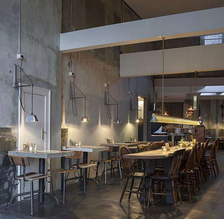 Bakkerswinkel Café by Piet Hein Eek, Rotterdam - Netherlands