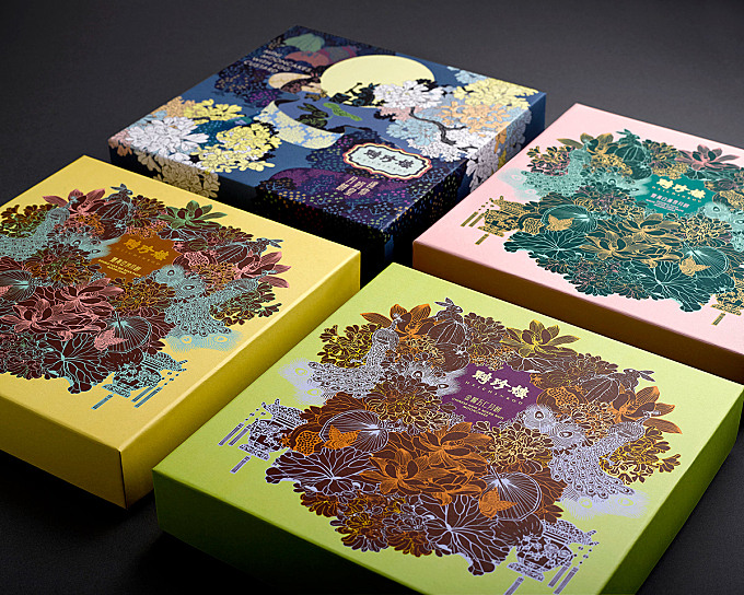 Heichinrou Mooncake Packaging