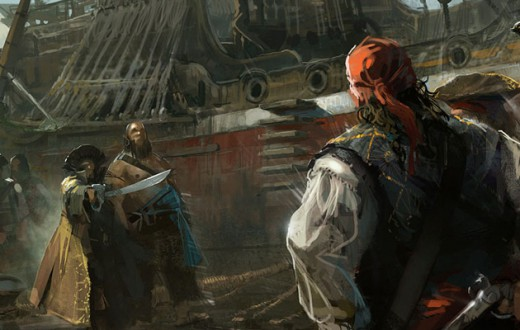 Concept artist Martin Deschambault was kind enough to share some of the concept art he created for Assassin's Creed IV Black ...