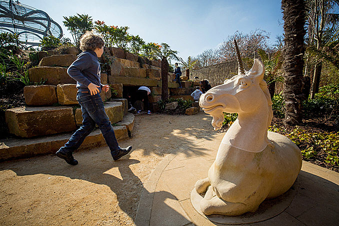The Magic Garden at Hampton Court Palace, London by RMA January 23, 2017,AEDT