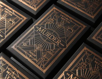 MURDER GAME black&Gold