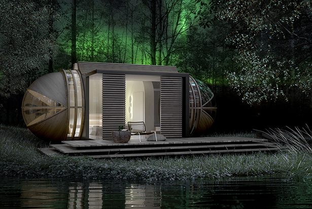 Cabin Drop XL : Modular Microarchitecture for Eco Tourism