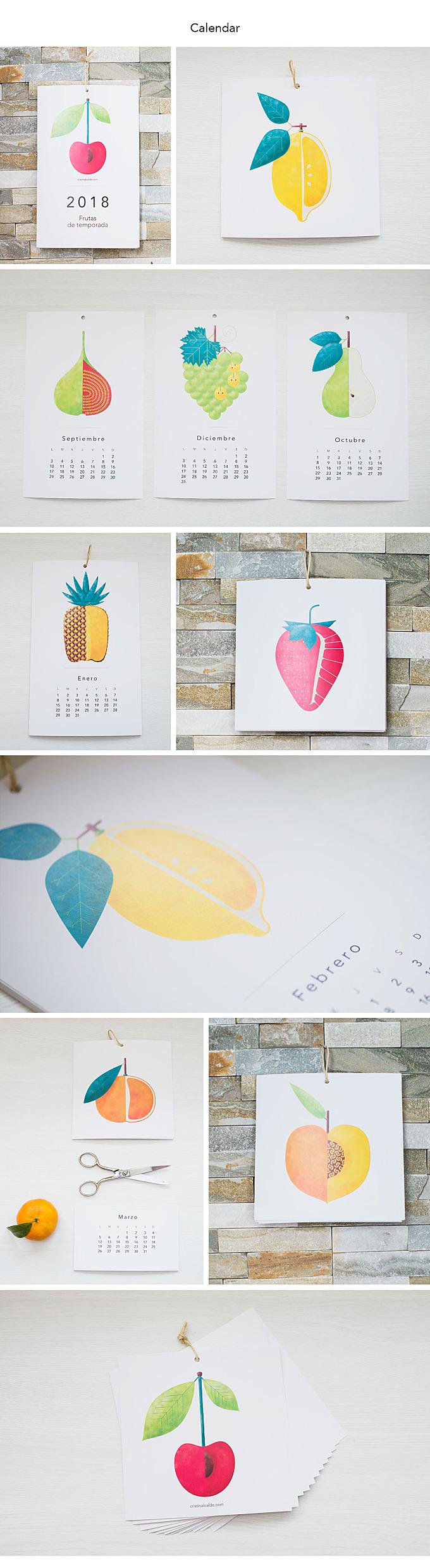 Seasonal fruit | Calendar/Collection