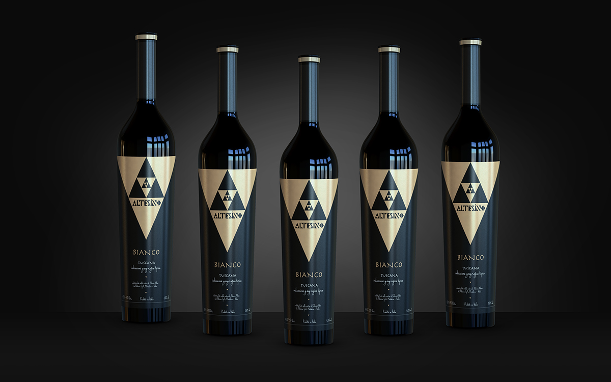 Altesino Wine | Packaging