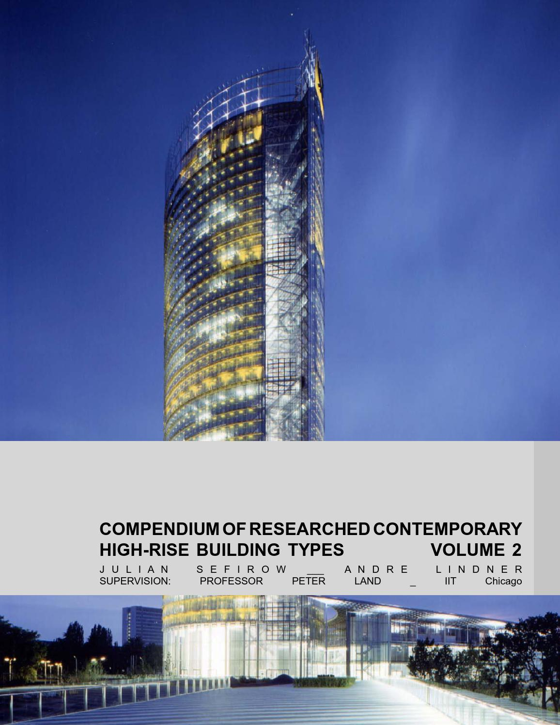 Compendium of researched high rise buildings