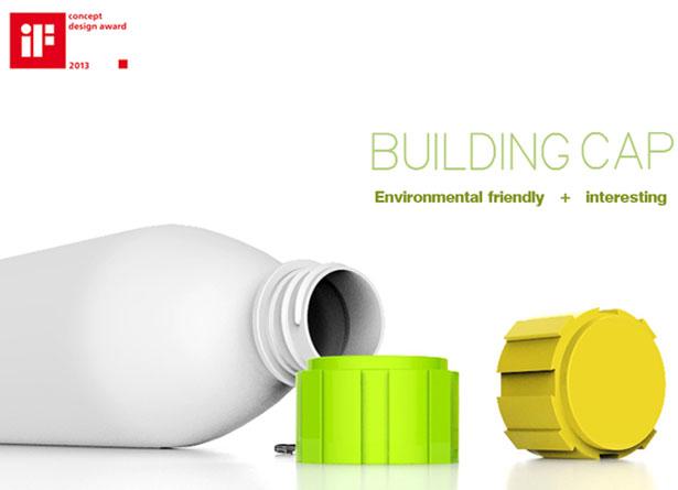 Children Can Build Buildings, Robots, or Animals Using Eco-Friendly Building Cap