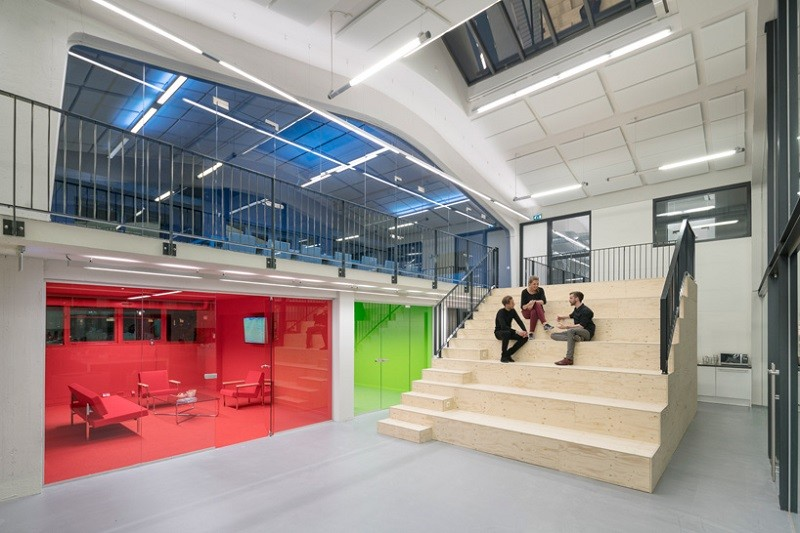 New offices of MVRDV in Rotterdam designed as a comfortable family house