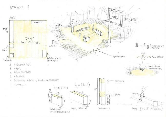 Wald.Berlin.Klima. - Exhibition in the Forest by hochC Landscape Architects + gewerkdesign
