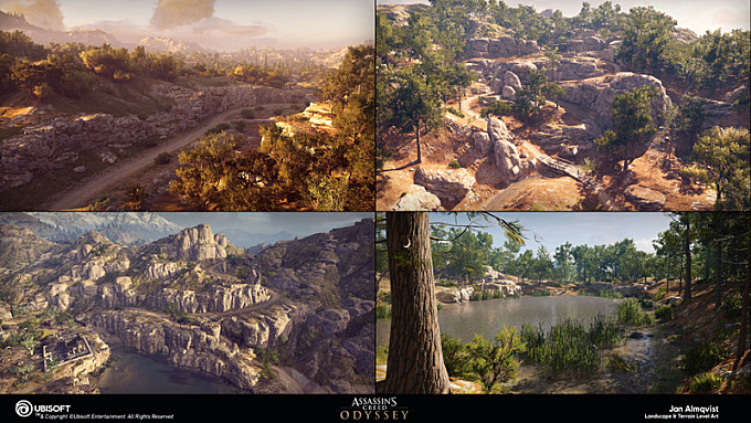 Assassin's Creed Odyssey - Summer Landscapes