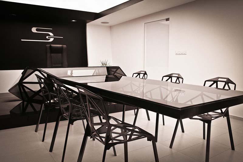 Office Desk Cum Conference Table – Hybrid
