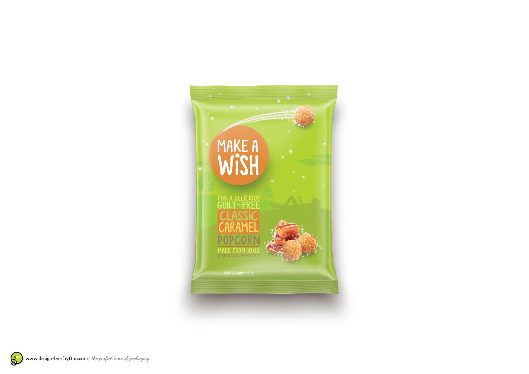 Concept : Popcorn Brand & Packaging Design Exploration